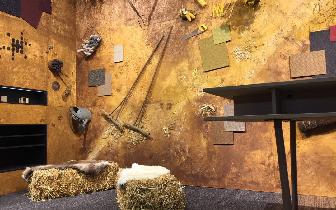 Messestand Carpet Concept Stockholm Furniture & Light Fair 2018