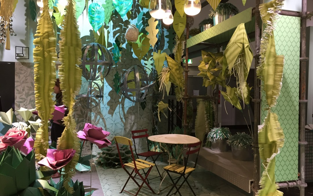 "imm cologne 2017 Messestand DTI ""Life in paradise"""