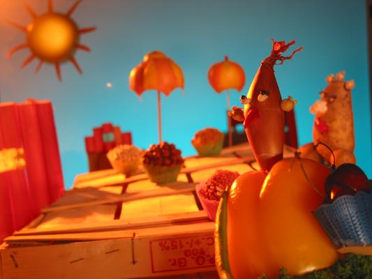 Gemüsepuppen 2, Sendung mit dem Elefanten