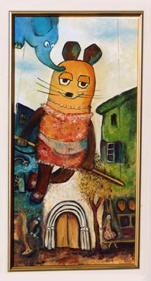 """""""Die Seiltänzermaus"""" nach Chagall"""