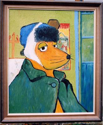 """Selbsbildnis van Gogh-Maus"""